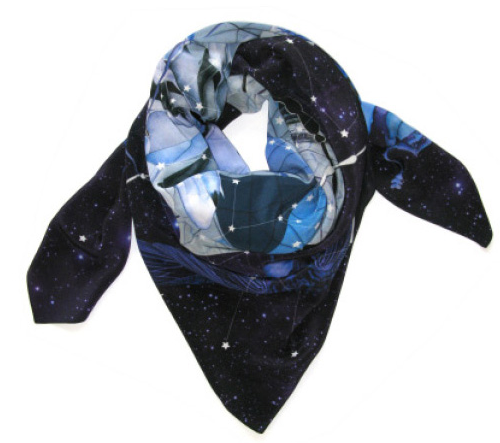 Forget Me Not Scarves
