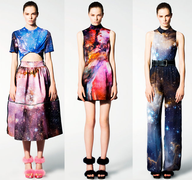 Christopher kane galaxy Aaryn West Surface Design