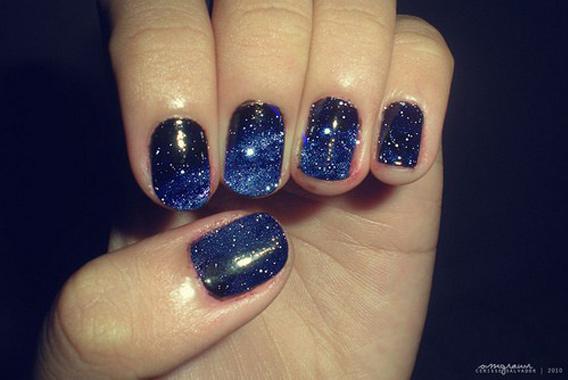 Galactic nail art