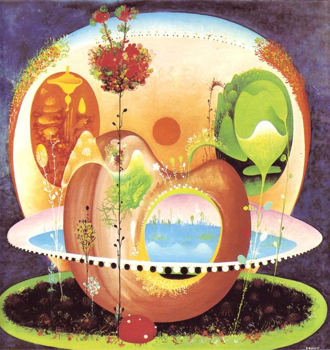 Vangel Naumovski, Sunset Garden, 1968