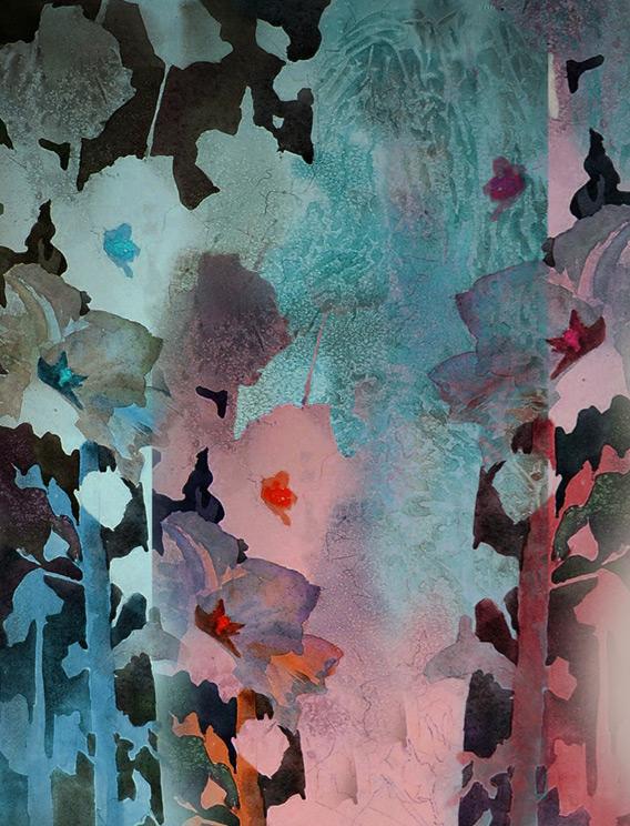 floral print by liz brizzi