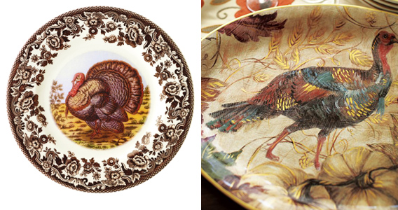 turkey plates west elm thanksgiving dishes & Happy Thanksgiving! | Aaryn West \u2013 Surface Design