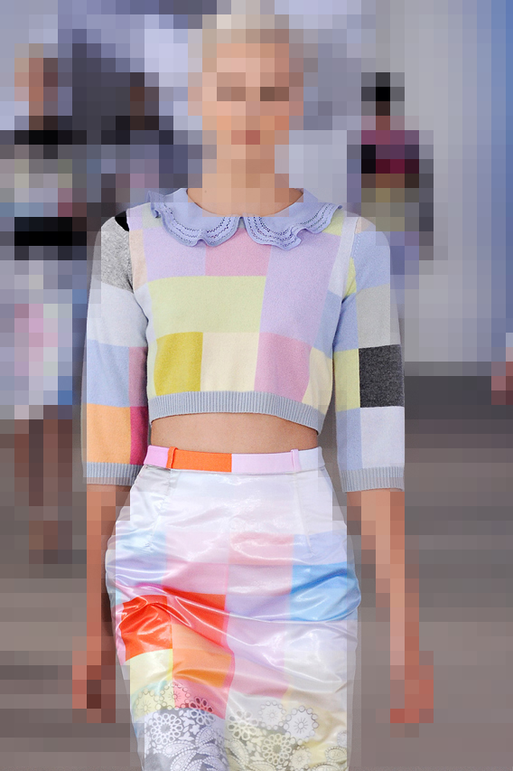 aaryn west trends: keep it pixelated