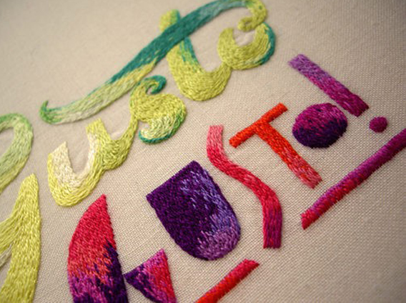 Aaryn West Trends: Embroider Me