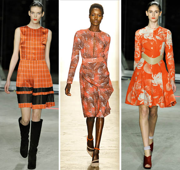 Fall 2012 Trends via Aaryn West: tangerine tango prints