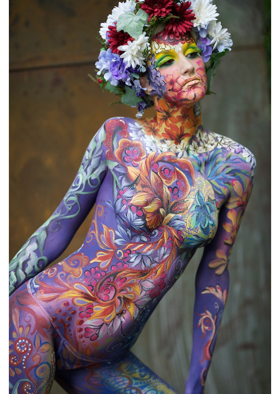 Becoming One With Nature, image from The World Bodypainting Festival