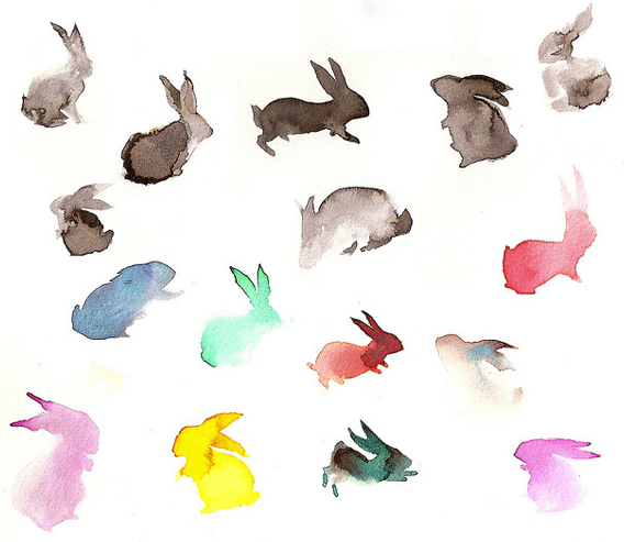 Bring On The Bunnies inspiration via Aaryn West