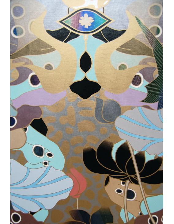 """""""Wilderness"""" detail, art by Casper Kang"""