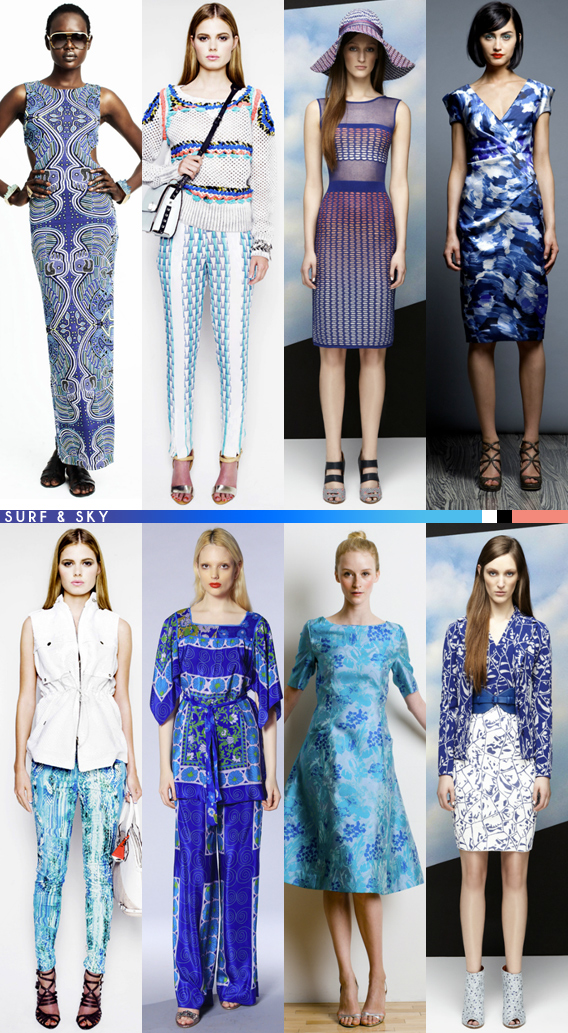 Resort 2013 Color Palettes via Aaryn West