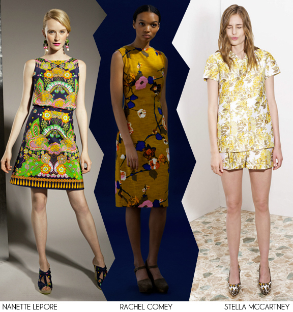 2013 Resort Trends: Vintage Florals