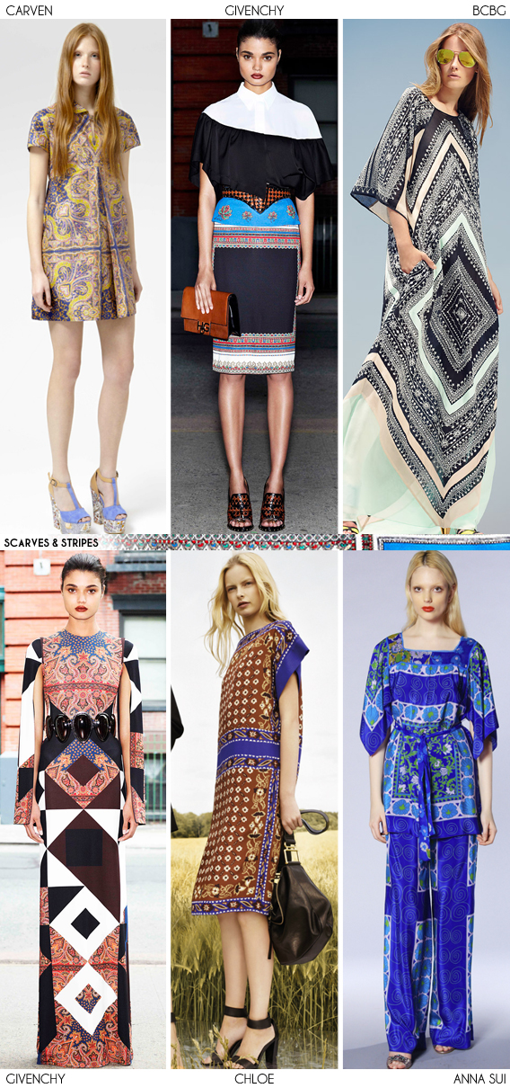 Resort 2013 Recap: Scarves and Stripes - Fashion Trends via Aaryn West