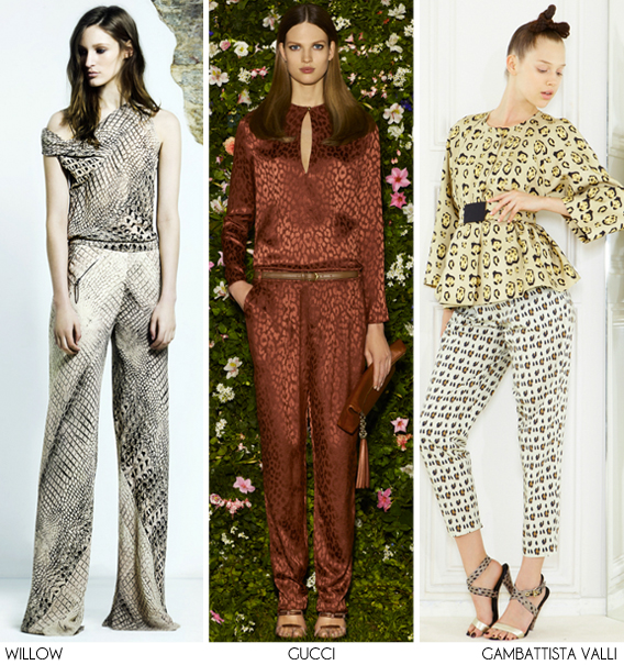 Resort 2012: Suit Up - Print Trends via Aaryn West