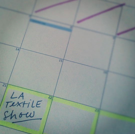 Countdown to the LA Textile Show