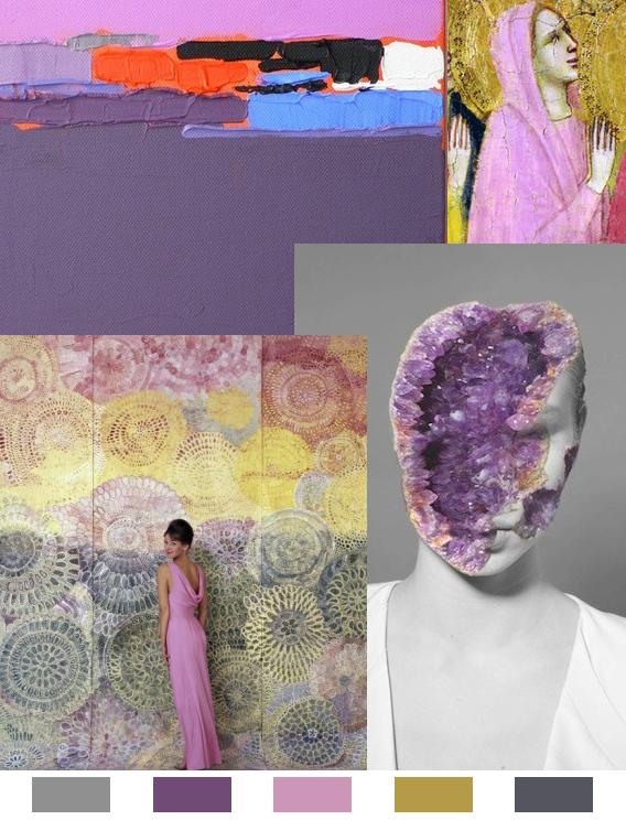 Violet Votive: Monday Color Mood via Aaryn West
