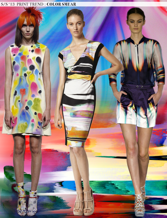 Color Smear: Spring 2013 Runway Trends via Aaryn West