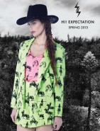 Aaryn West for Hi! Expectation Spring 2013