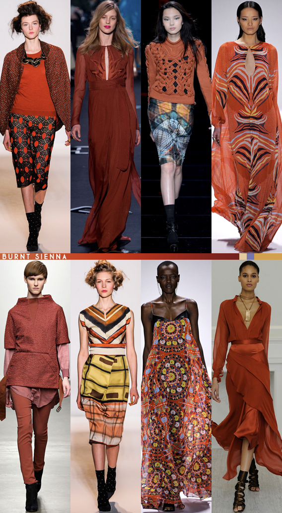 Fall 2013 Color Review: Burnt Sienna