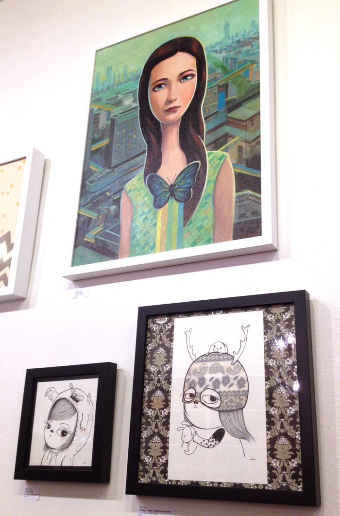 Campy Crush Presents Banana Split Ladies Art Gallery at LeeLee's Wonderland