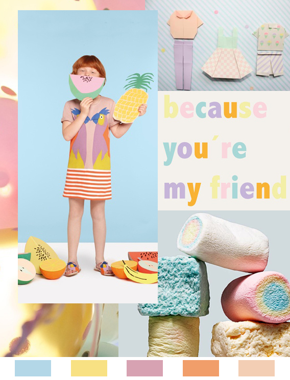 Pastel Picnic: Monday Color Mood Via Aaryn West