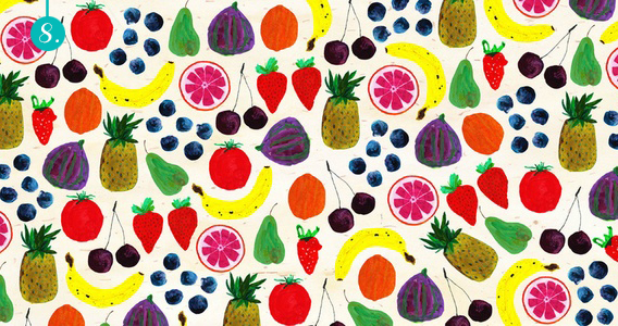 Fun With Fruit: Print Trends via Aaryn West
