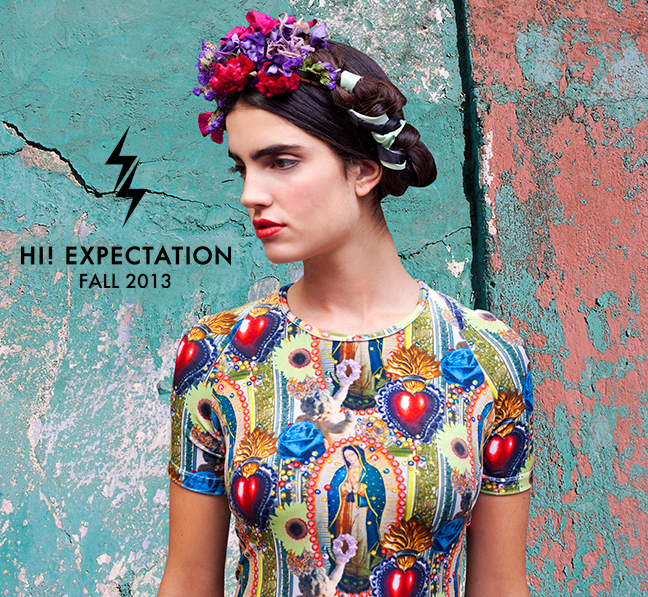 Aaryn West x Hi! Expectation Fall 2013