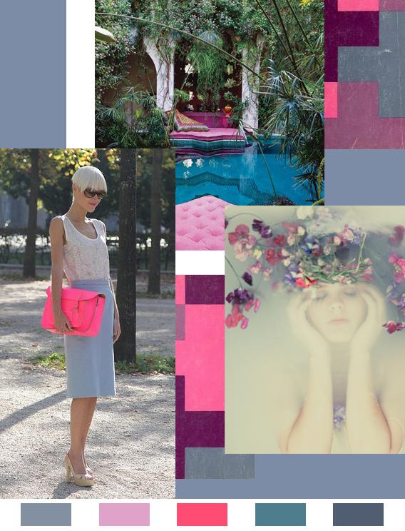 Indiglo: Monday Color Mood via Aaryn West