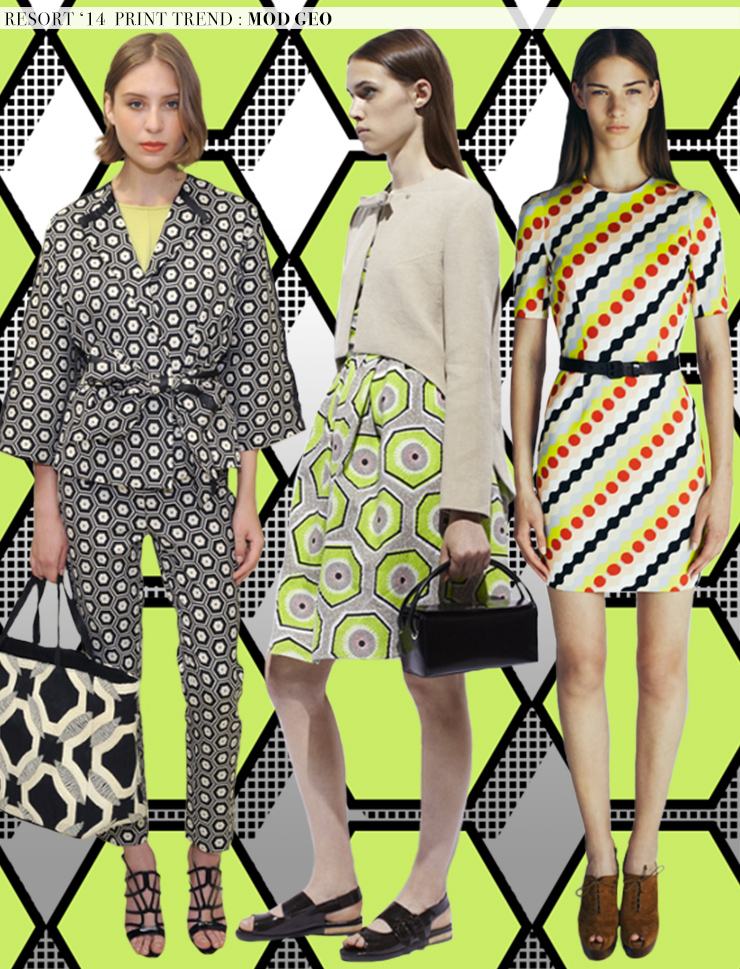 Resort 2014 Runway Trends: Mod Geo
