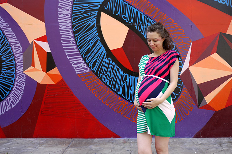 32 Weeks: Patterns, Preggos & Painted Places