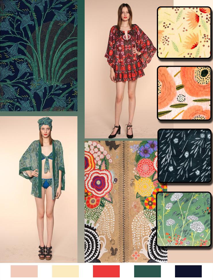 A Walk In The Garden: Monday Color Mood via Aaryn West