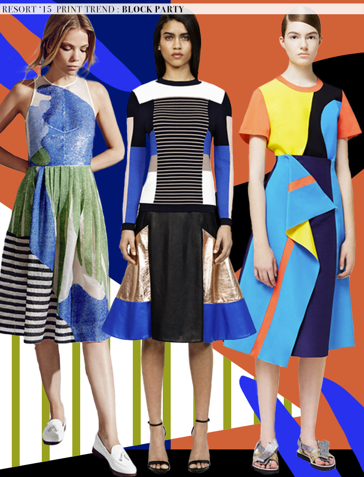 Resort '15 Runway Trends: Block Party