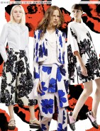 Resort 2015 Runway Print Trends: Bold Blooms via Aaryn West