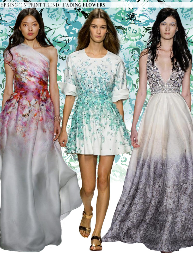Spring 2015 Runway Trends: Fading Flowers via Aaryn West