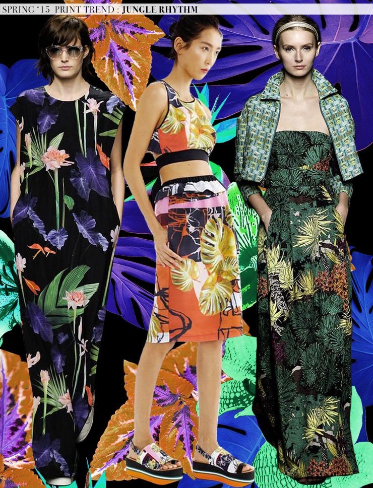 Spring 2015 Runway Trends: Jungle Rhythm via Aaryn West