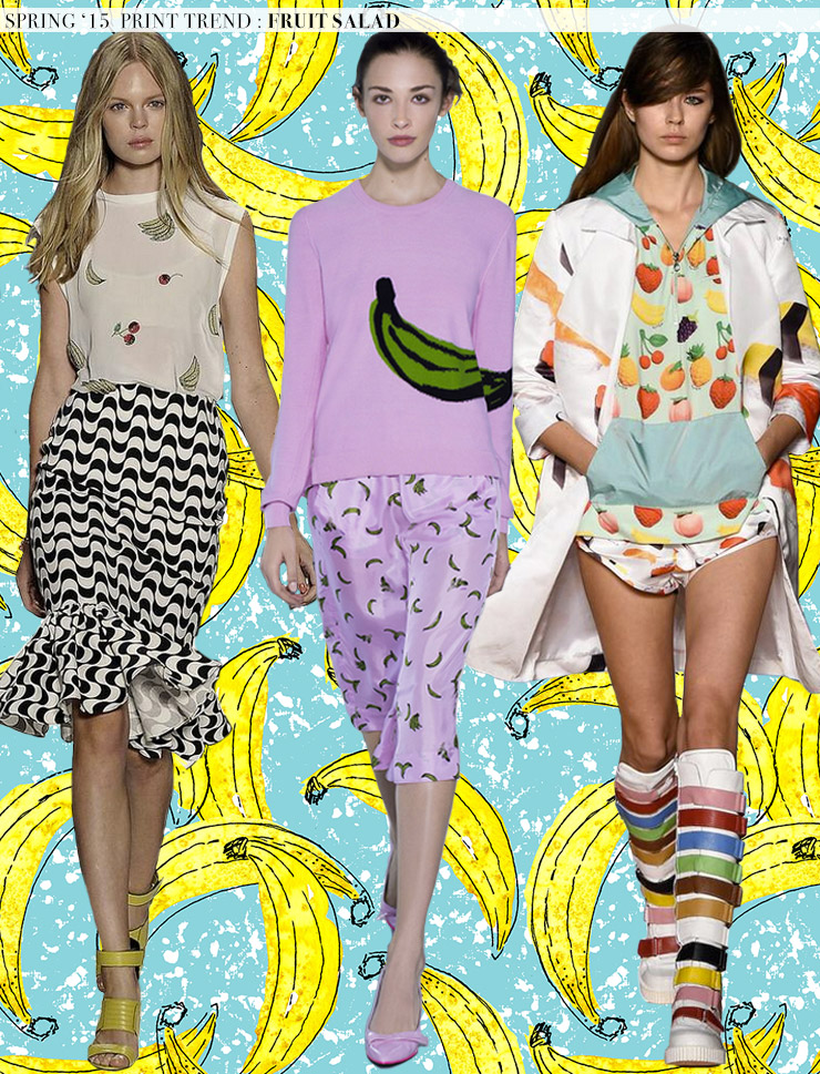 Spring 2015 Runway Trends: Fruit Salad via Aaryn West