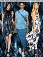 Spring 2015 Runway Trends: Global Ikat via Aaryn West