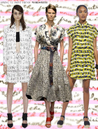 Spring 2015 Runway Trends: Wordsmith via Aaryn West
