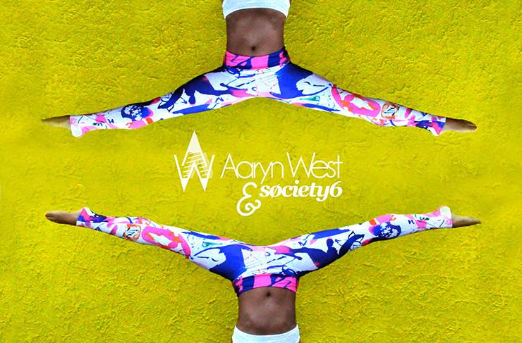 Aaryn West x Society6 Leggings
