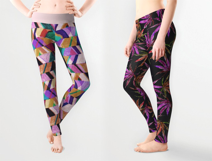 Aaryn West x Society6 Leggings
